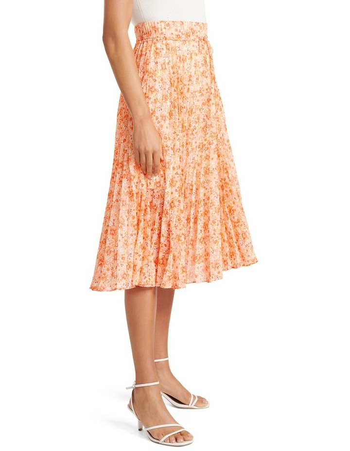 Alexis Pleated Georgette Skirt image 2