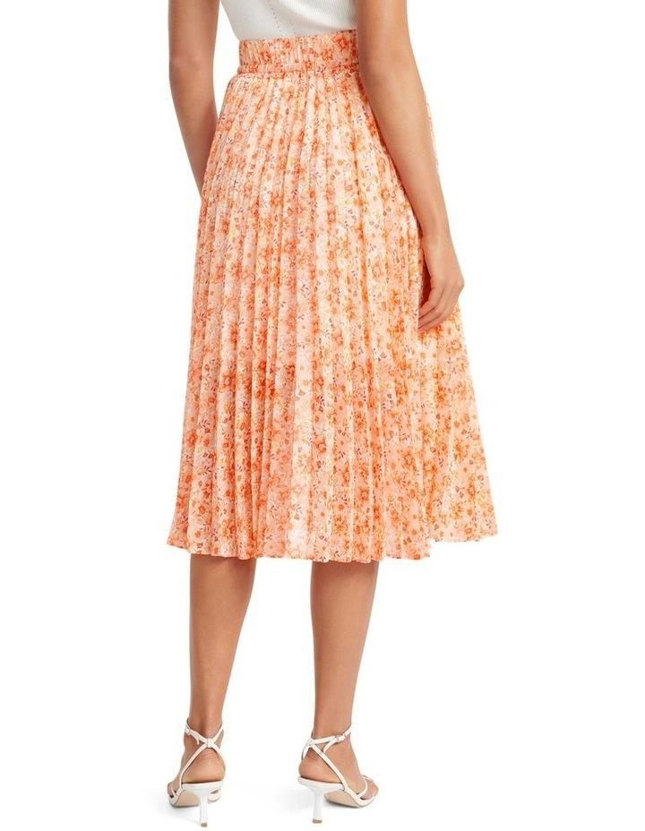 Alexis Pleated Georgette Skirt image 3