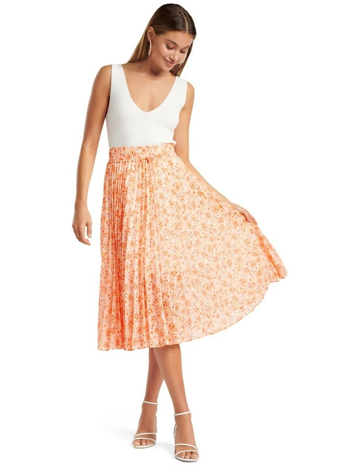 Alexis Pleated Georgette Skirt image 4