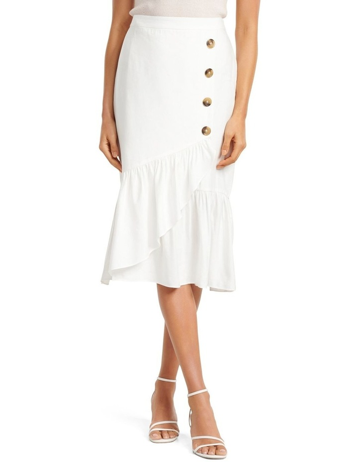 Patricia Button Down Frill Skirt image 1