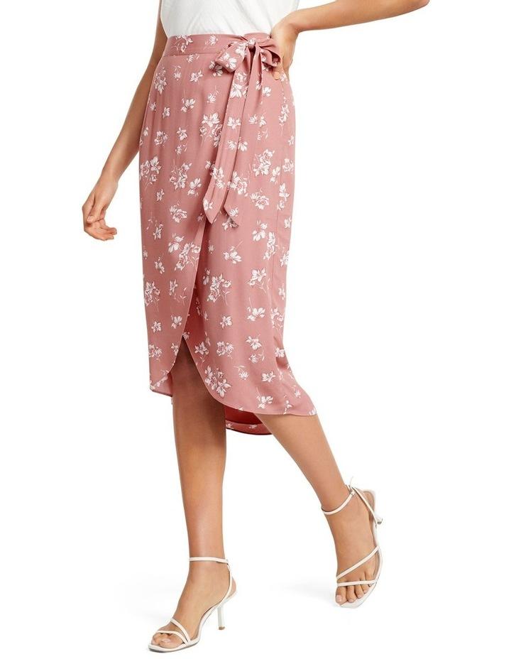 Catherine Wrap Midi Skirt image 1