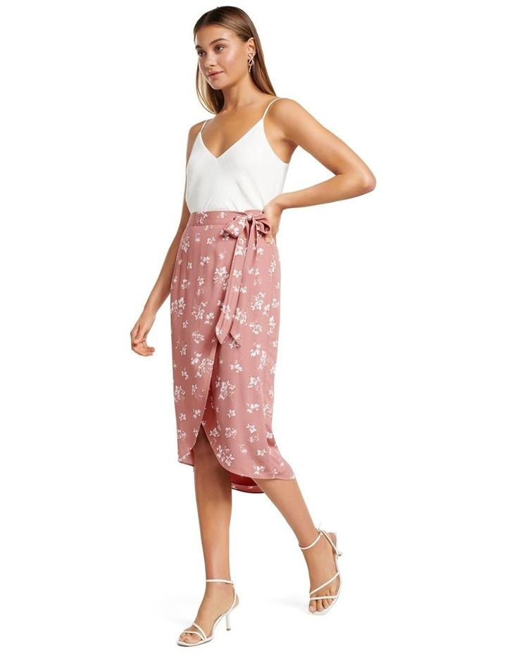 Catherine Wrap Midi Skirt image 4