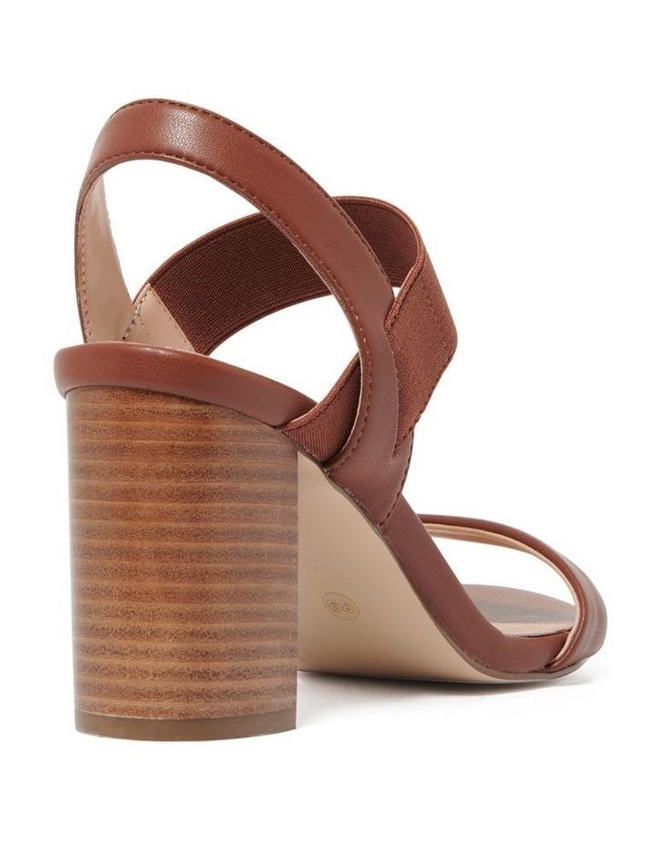 Gemma Elastic Block Heels image 4