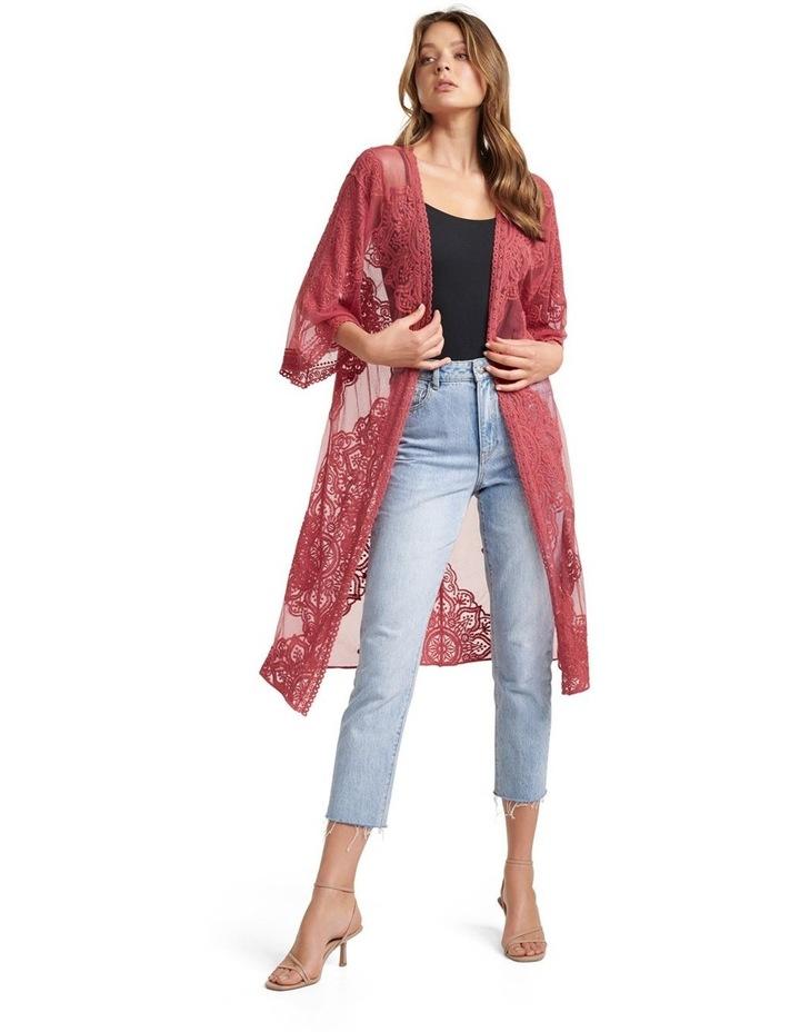 Lisa Lace Kimono image 1
