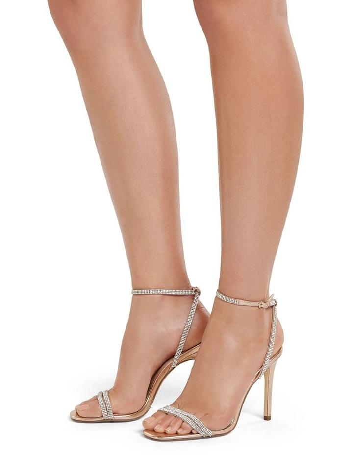 Anna Diamante Strap Heels image 5