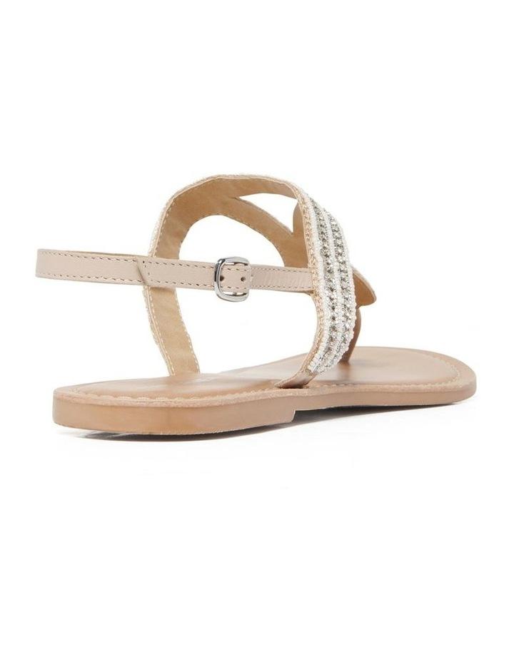 Rose Embellished T Bar Sandals image 4