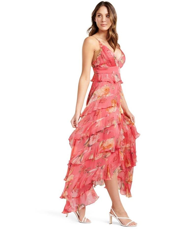 Delilah Ruffle Midi Dress image 2