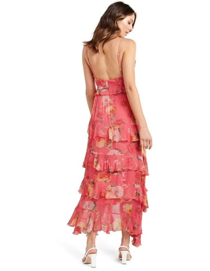 Delilah Ruffle Midi Dress image 3