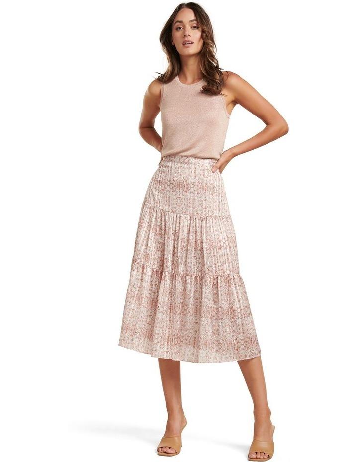 Taliyah Tiered Midi Skirt image 1
