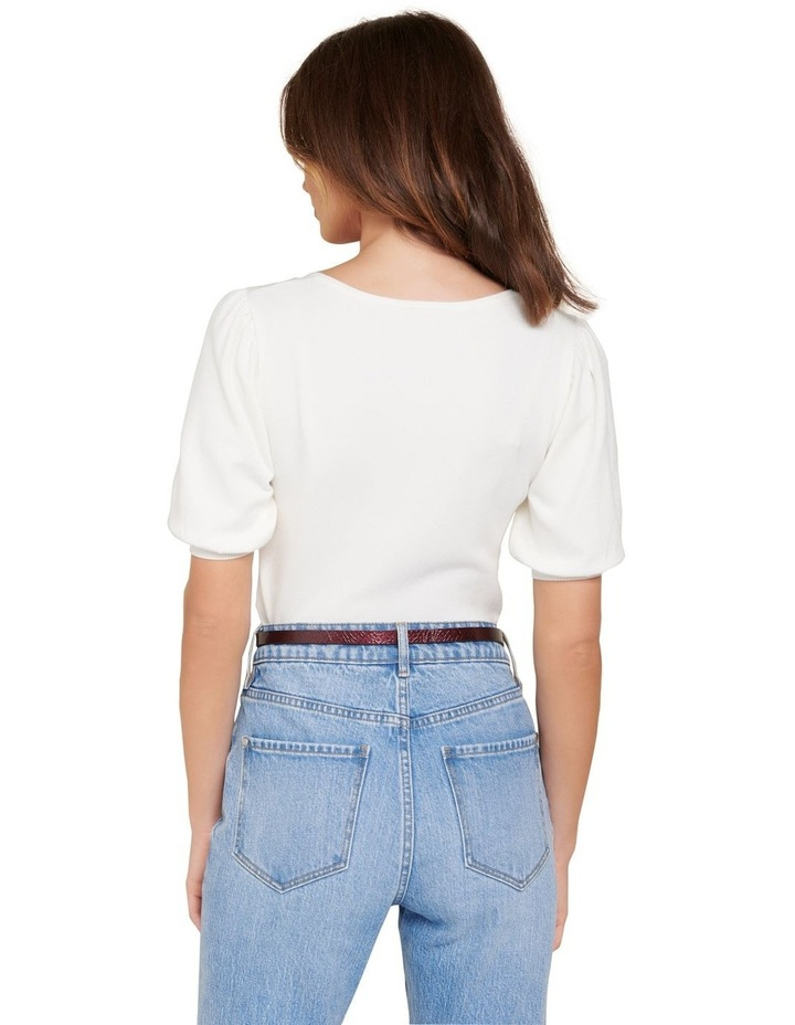 Kenzie Square Neck Knit Tee image 3