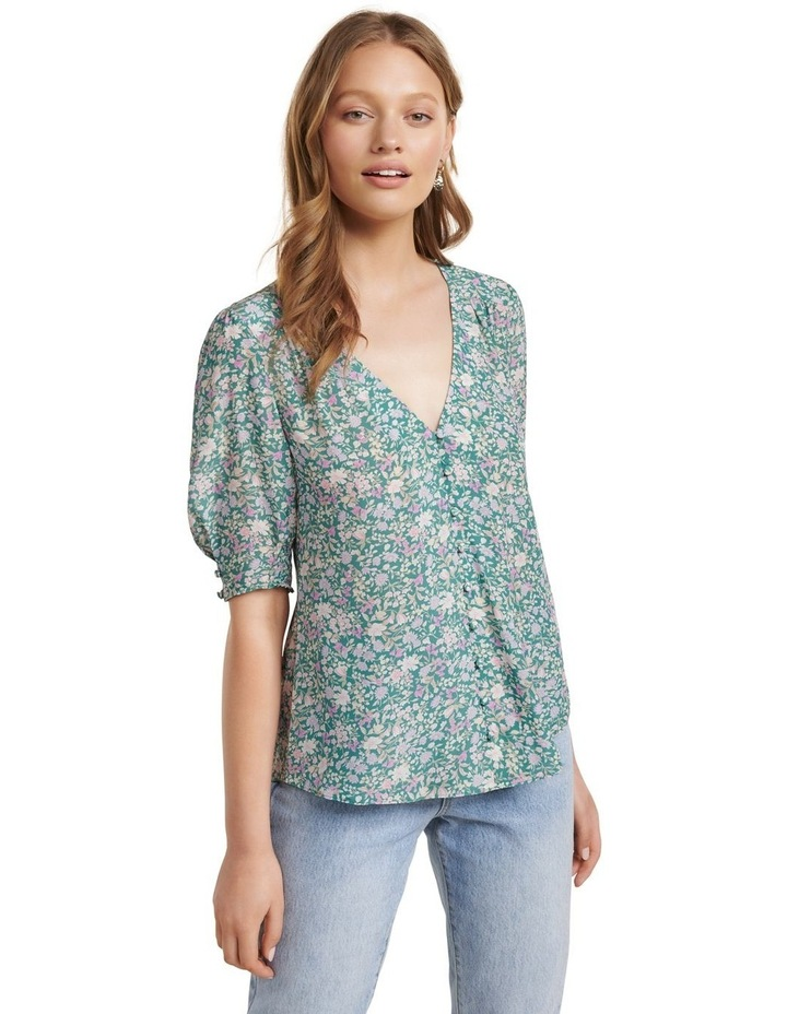 Carley Button Down Blouse image 2