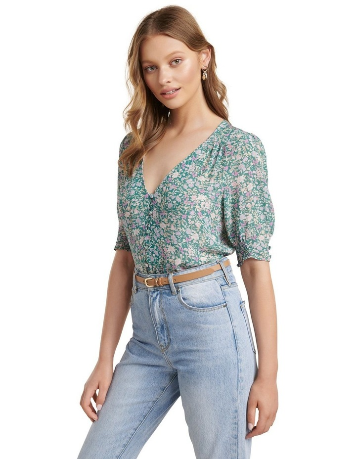 Carley Button Down Blouse image 3