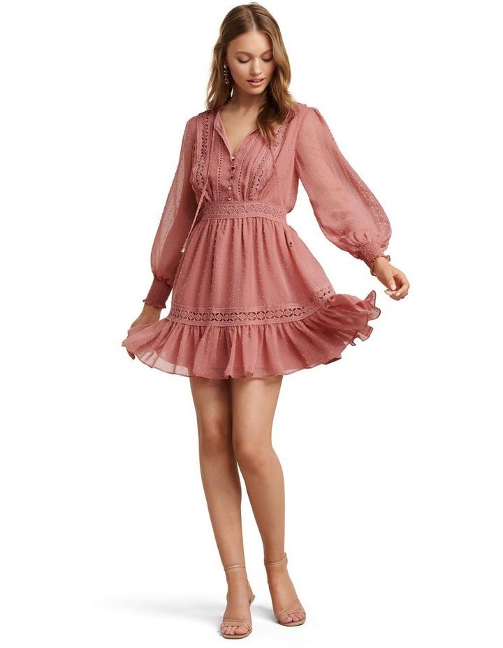 Layla Petite Spliced Dobby Dress image 5