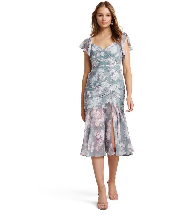 Azalea Petite Ruched Maxi Dress image 1