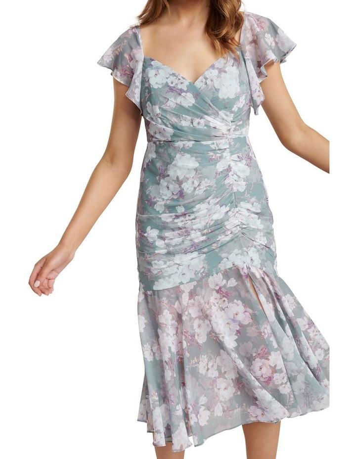 Azalea Petite Ruched Maxi Dress image 2