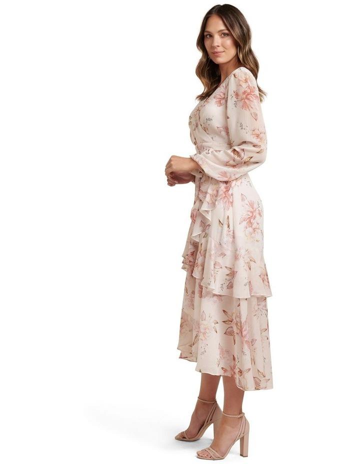 Fleur Long Sleeve Wrap Dress image 3