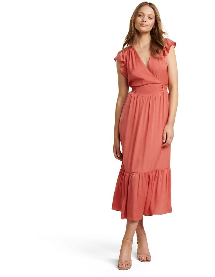 Estelle Tiered Midi Dress image 1
