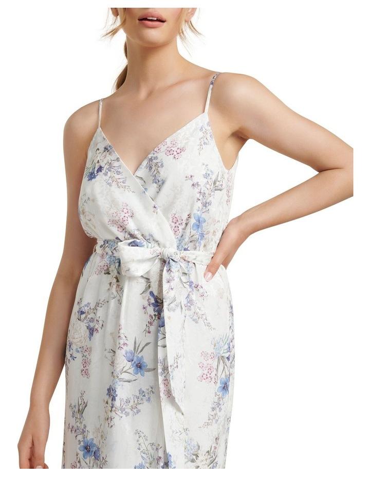 Talia Floral Wrap Midi Dress image 2
