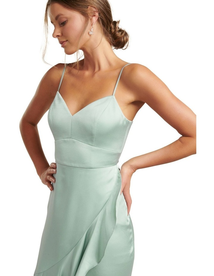 Hazel Wrap Frill Midi Dress image 2