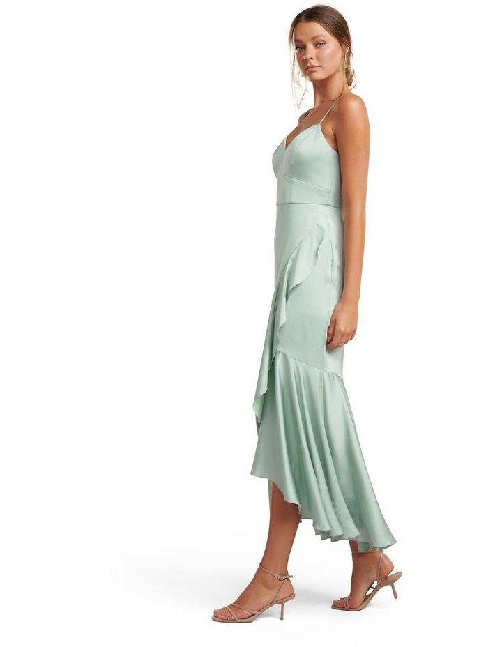 Hazel Wrap Frill Midi Dress image 3