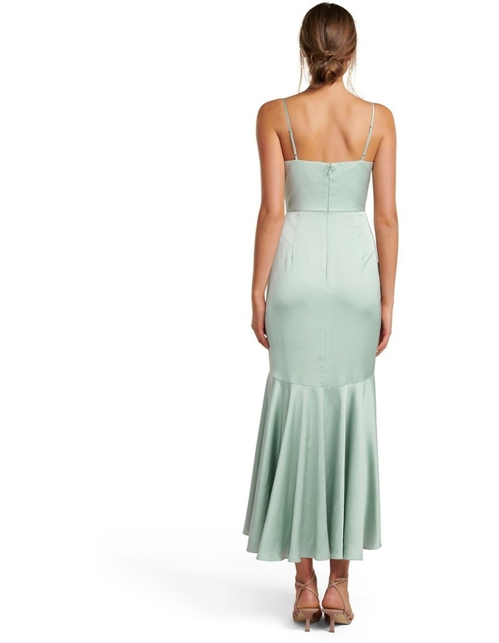 Hazel Wrap Frill Midi Dress image 4