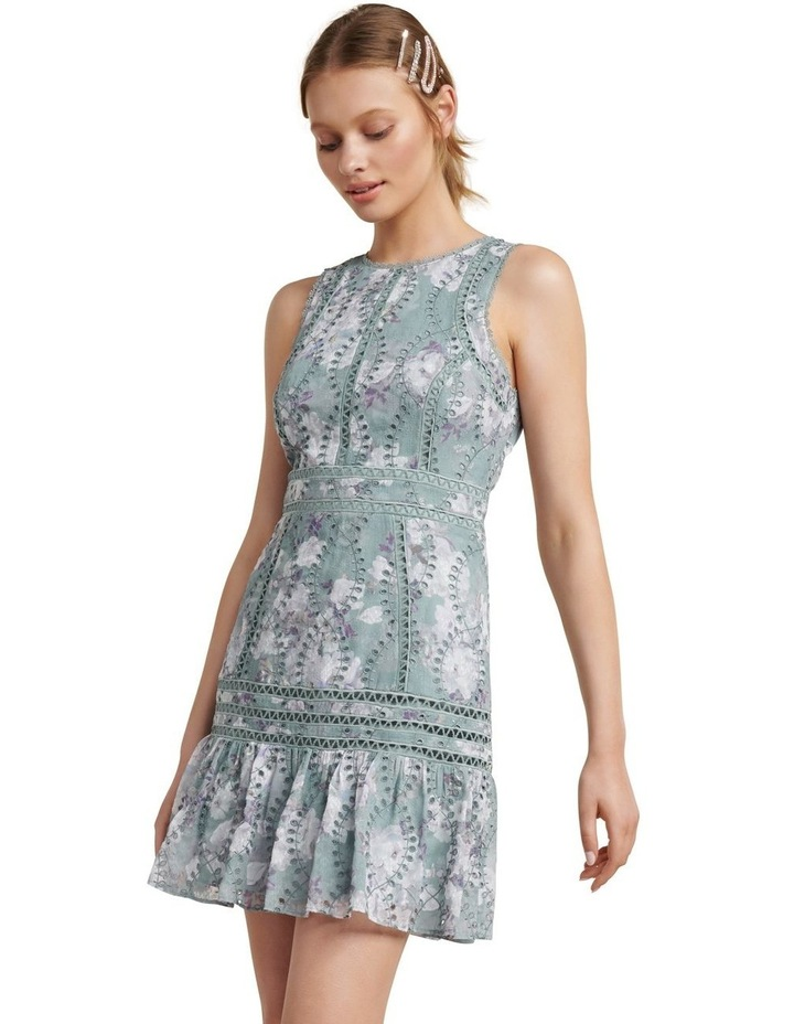 Blair Printed Broderie Dress image 1