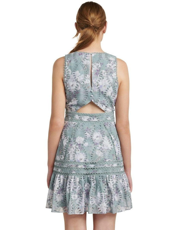 Blair Printed Broderie Dress image 4