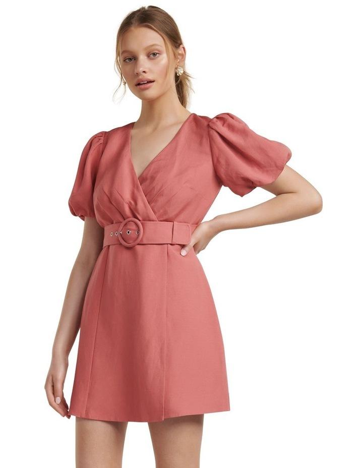 Maggie Linen Wrap Dress image 1