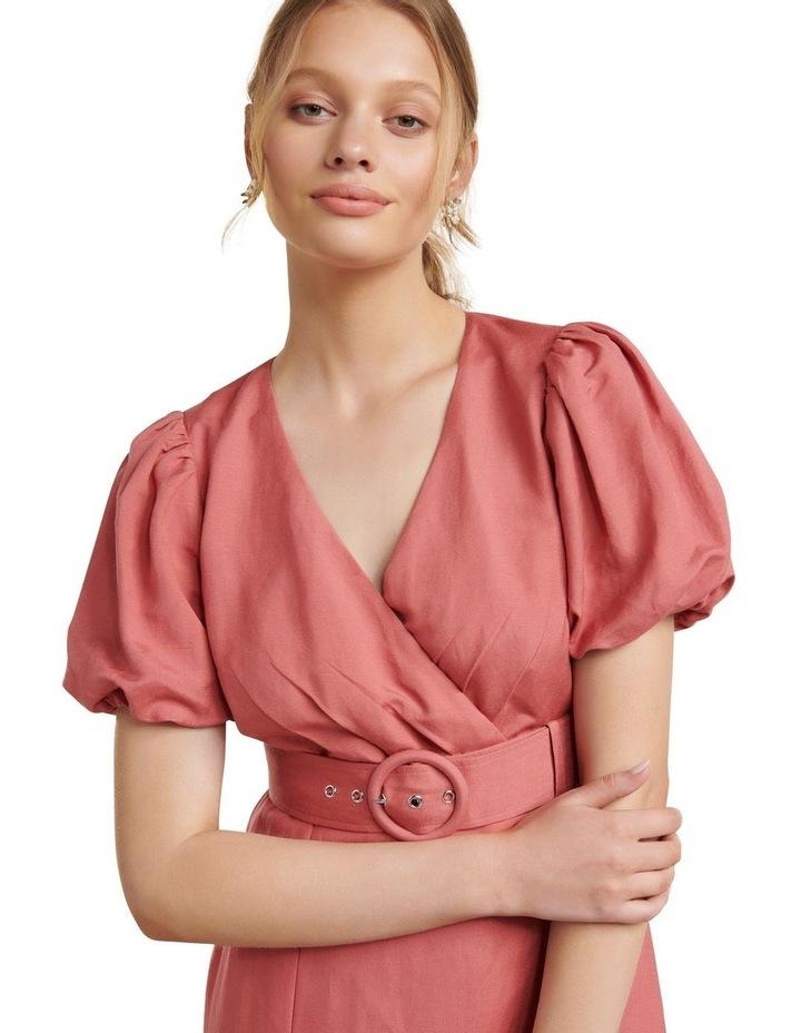 Maggie Linen Wrap Dress image 2
