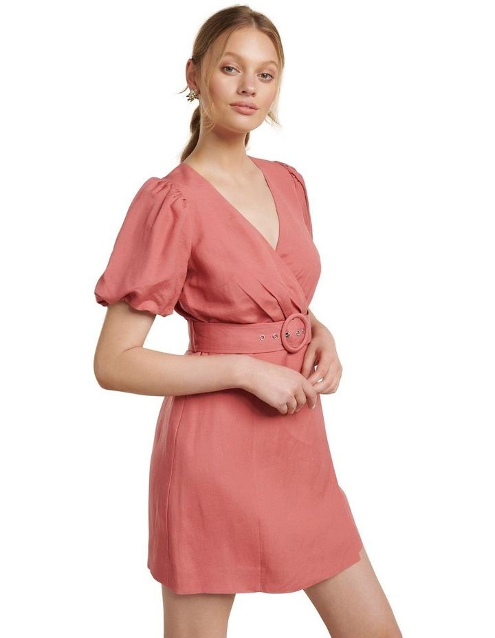 Maggie Linen Wrap Dress image 3