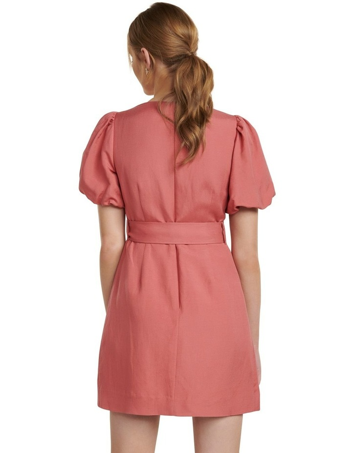 Maggie Linen Wrap Dress image 4