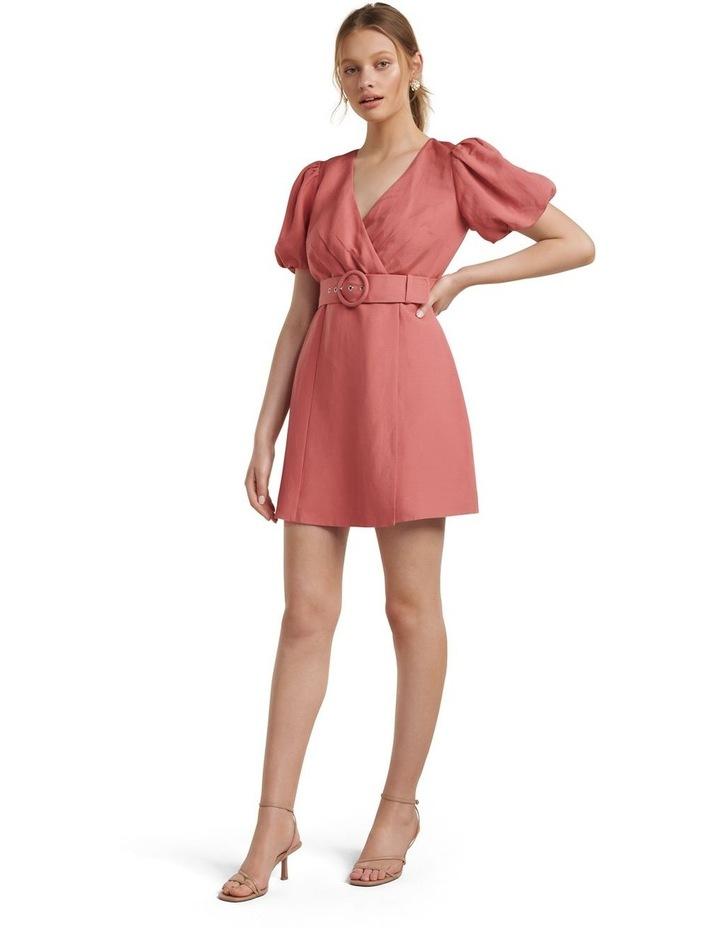 Maggie Linen Wrap Dress image 5