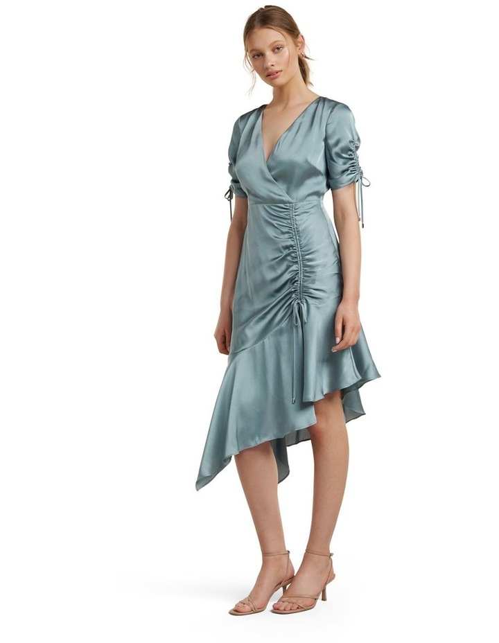 Sally Satin Ruched Dress image 3