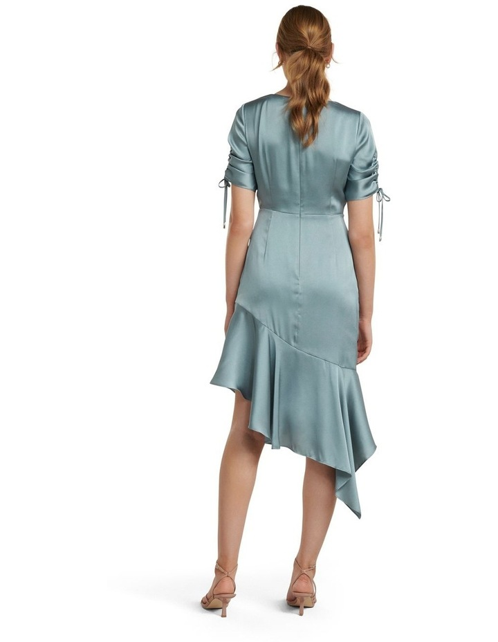 Sally Satin Ruched Dress image 4