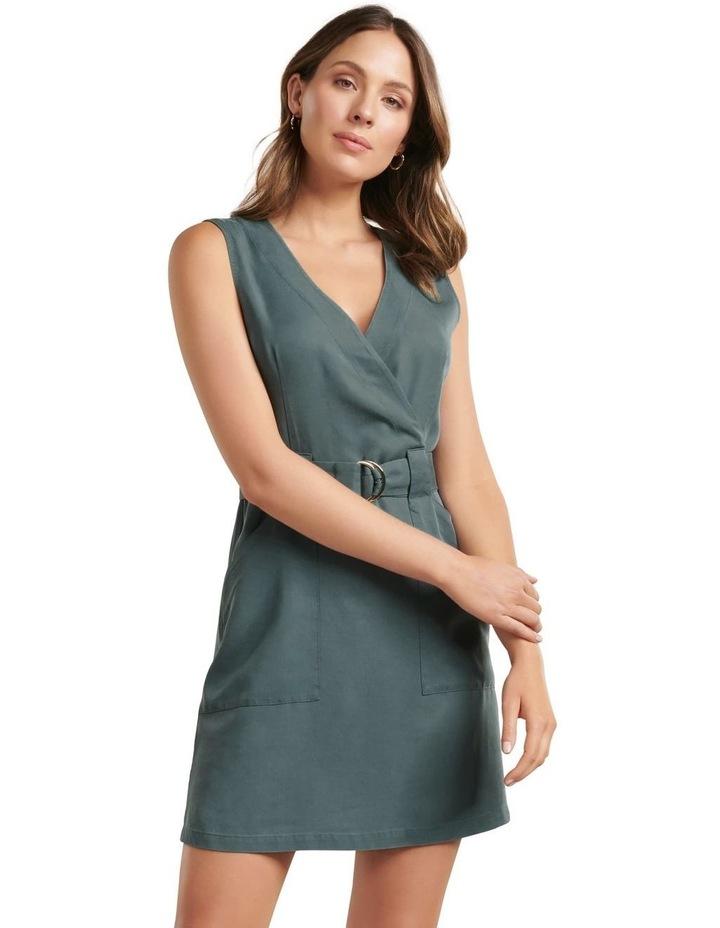 Katy Sleeveless Belted Dress image 1