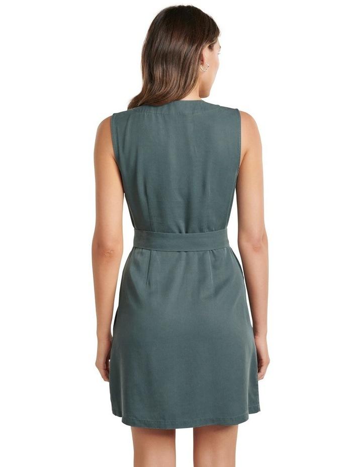 Katy Sleeveless Belted Dress image 3