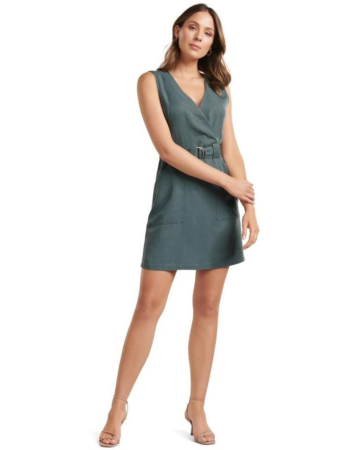 Katy Sleeveless Belted Dress image 4