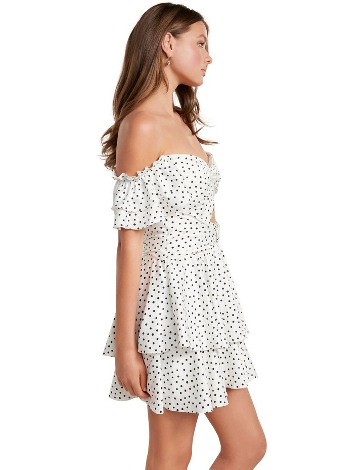 Paris Polka Dot Mini Dress image 3