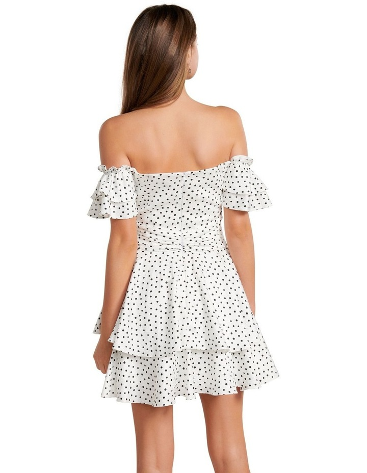 Paris Polka Dot Mini Dress image 4
