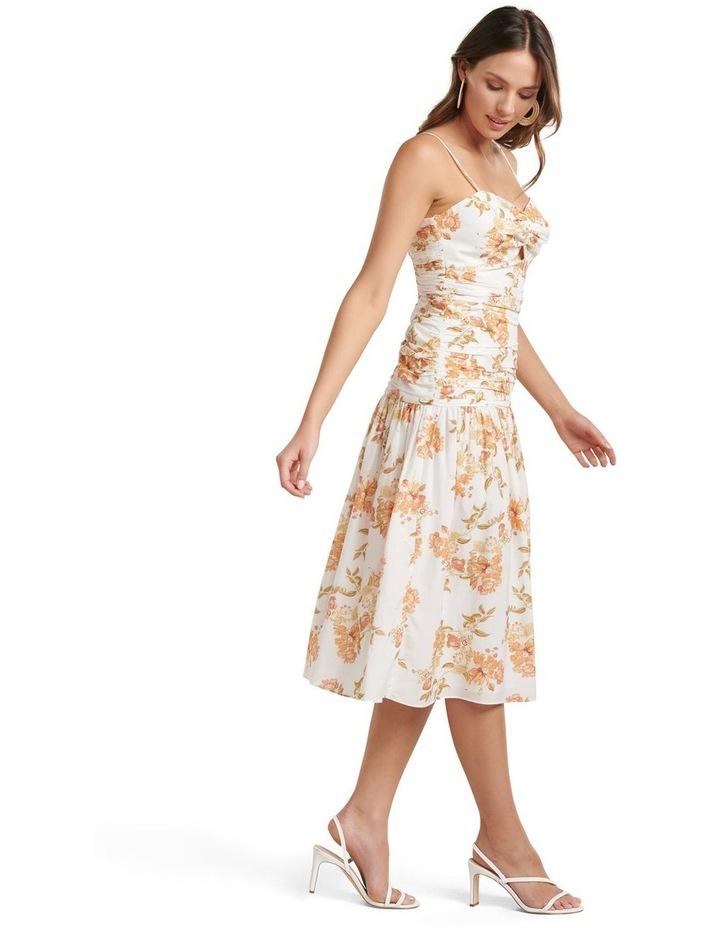 Matilda Ruched Midi Dress image 3