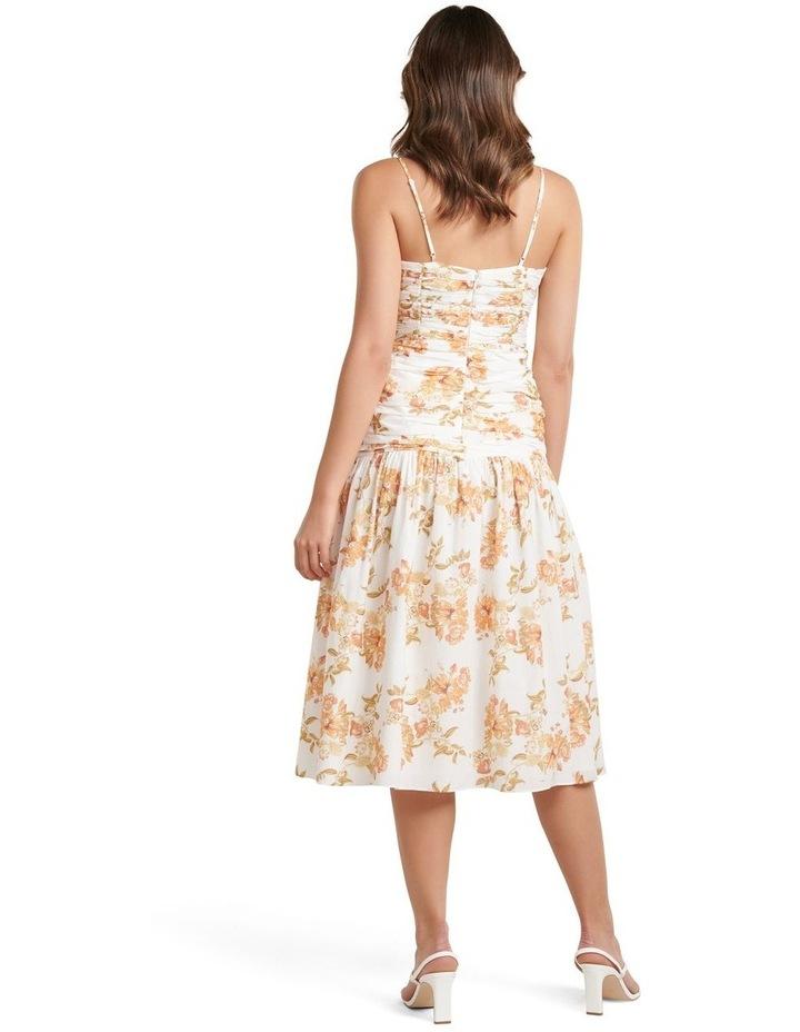 Matilda Ruched Midi Dress image 4