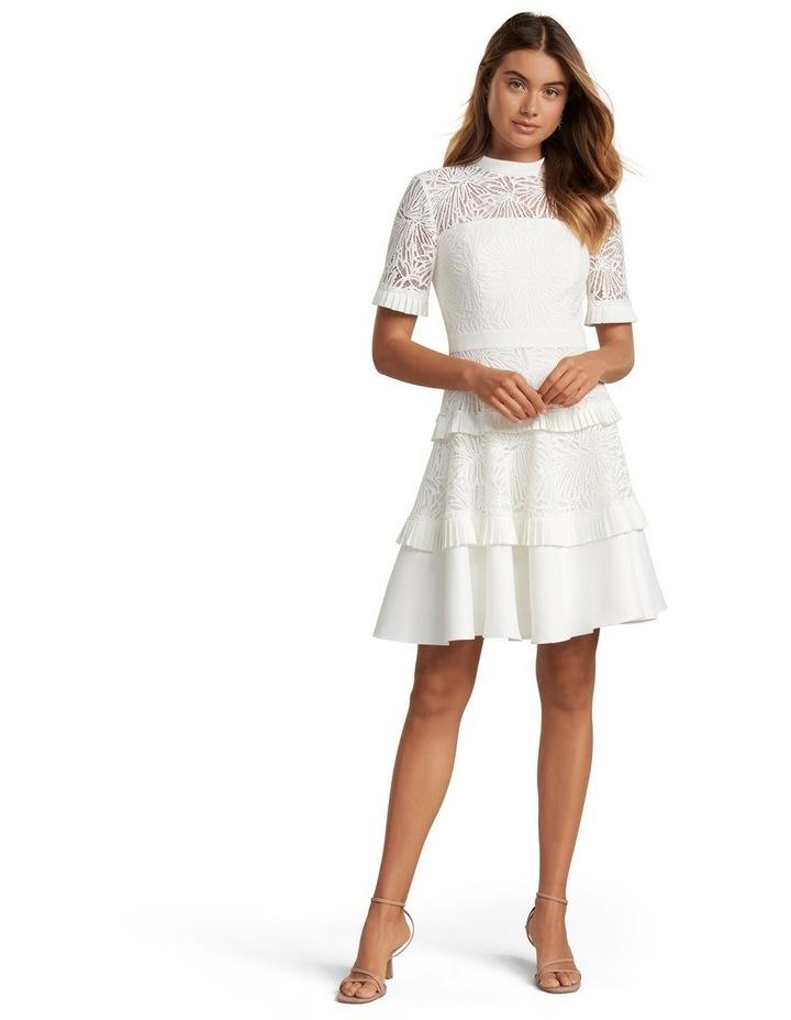 Raine Spliced Panel Prom Dress image 5