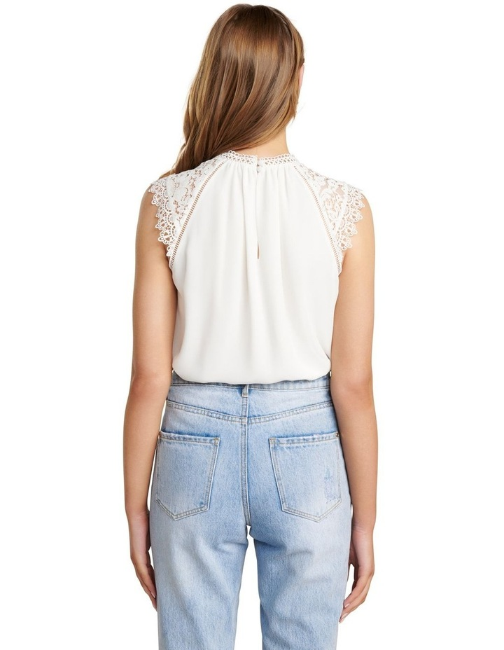Lulu Lace Shoulder Top image 4