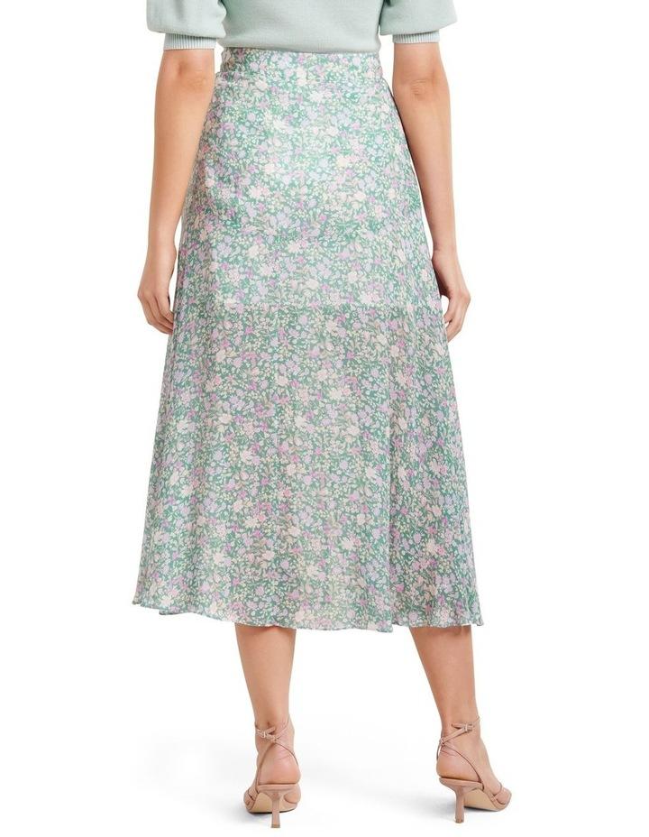 Bronte Button Front Midi Skirt image 3
