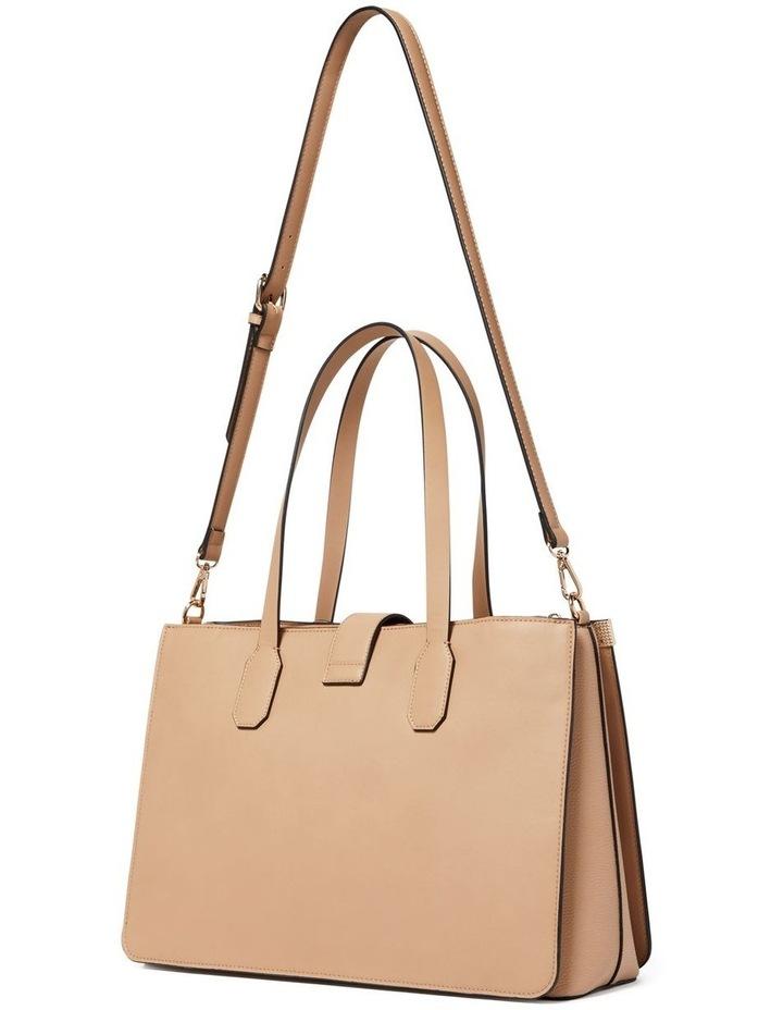 "13"" Carla Rectangle Lock Laptop Bag image 4"