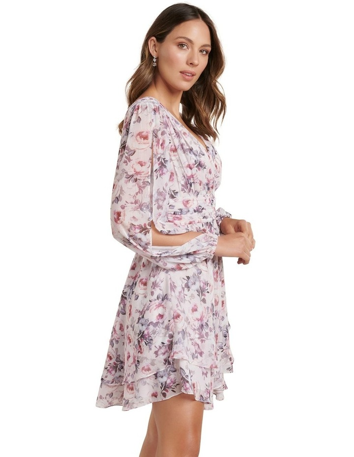 Taylor Split Sleeve Skater Dress image 3
