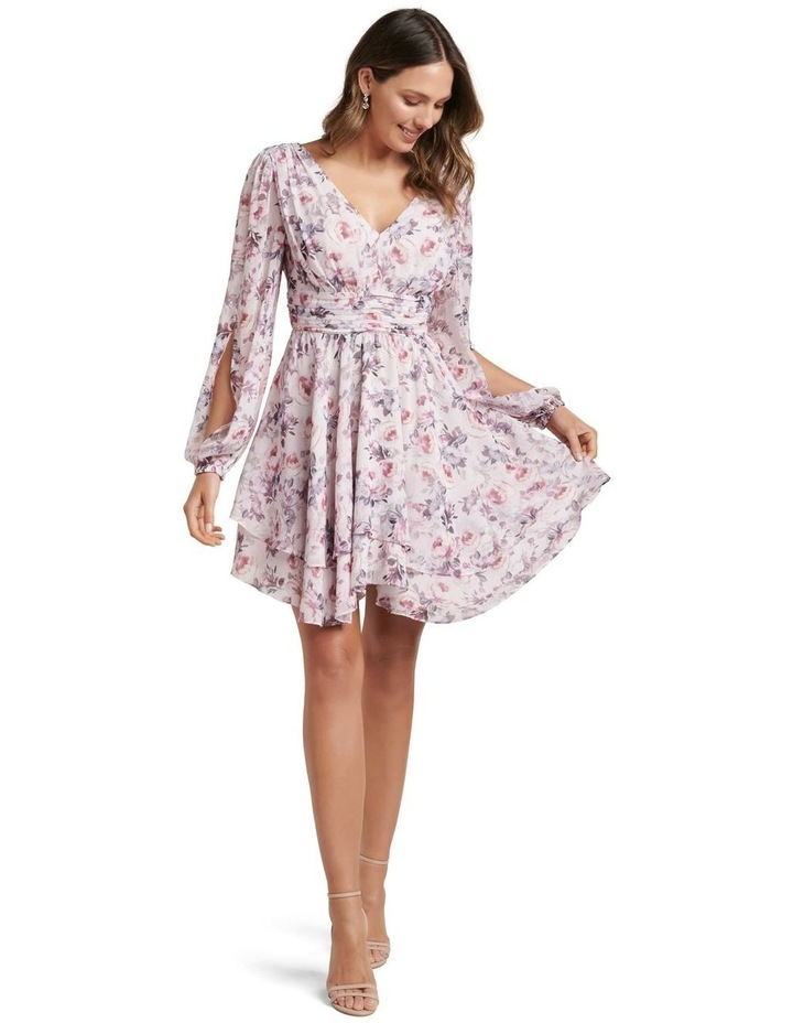 Taylor Split Sleeve Skater Dress image 5
