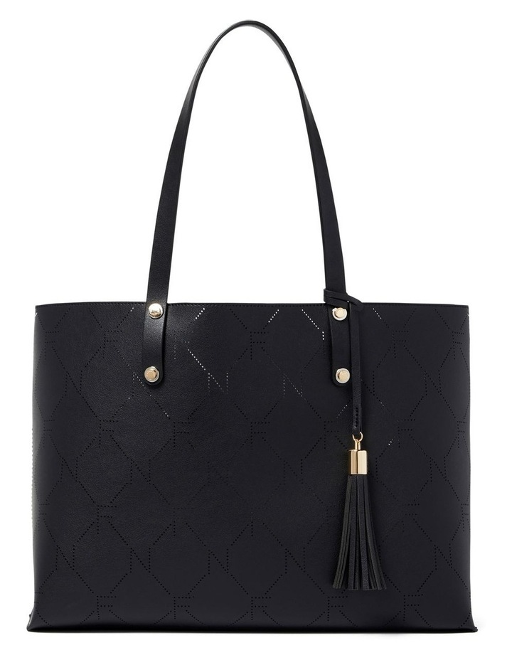 Libby Perforated Logo Tote image 1