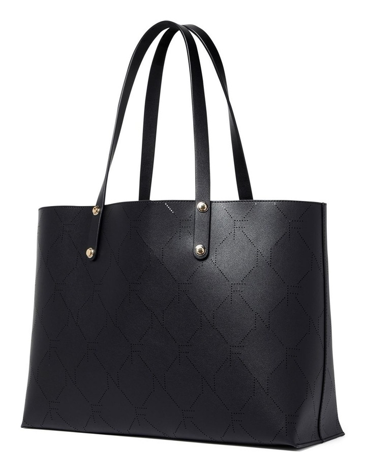 Libby Perforated Logo Tote image 3