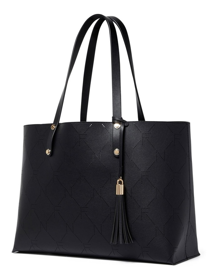 Libby Perforated Logo Tote image 4